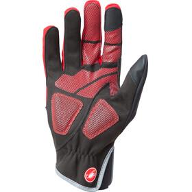Castelli Scalda Pro - Gants - rouge/noir